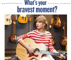What is your bravest moment?