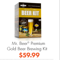 Mr. Beer® Premium Gold Beer Brewing Kit $59.99