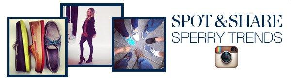 SPOT & SHARE SPERRY TRENDS