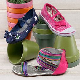 Spring Steps: Girls' Shoes