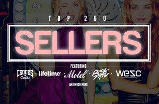 Top 250 Sellers