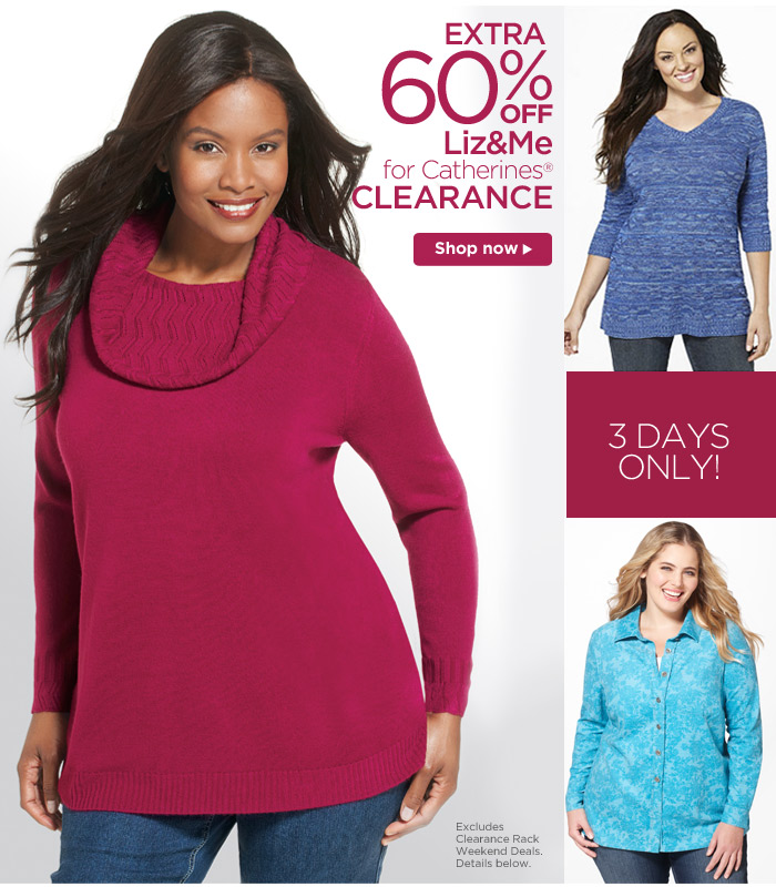 Extra 60% Liz & Me Clearance