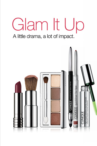 Glam It Up. A little drama, a lot of impact.