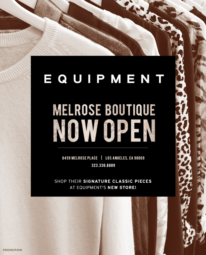 Introducing: Equipment's New Boutique