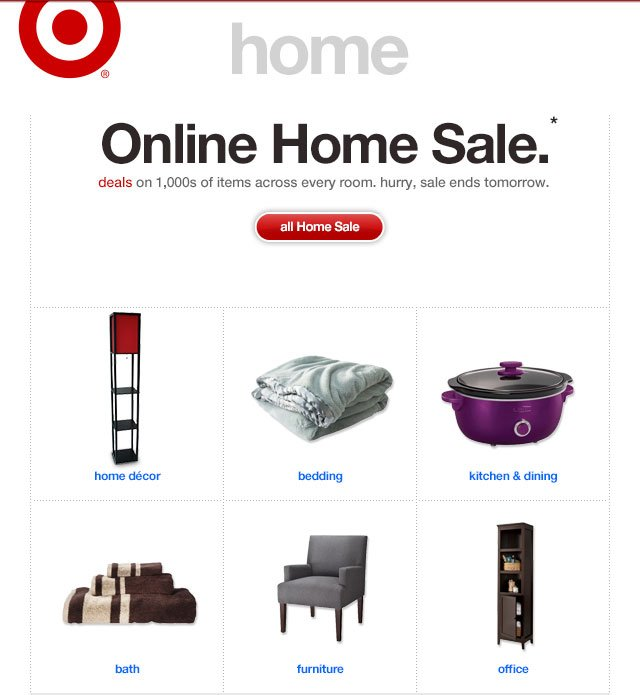 ONLINE HOME SALE.*