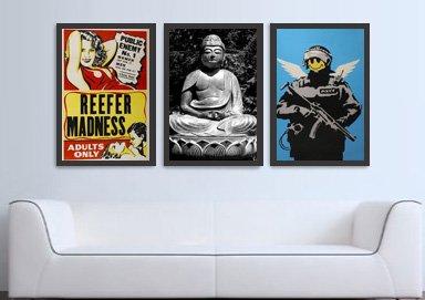 Shop Ban Bare Walls: 90+ Canvas Prints