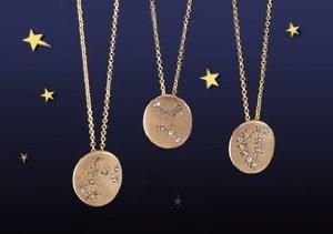 Sparkling Signs: Zodiac Necklaces