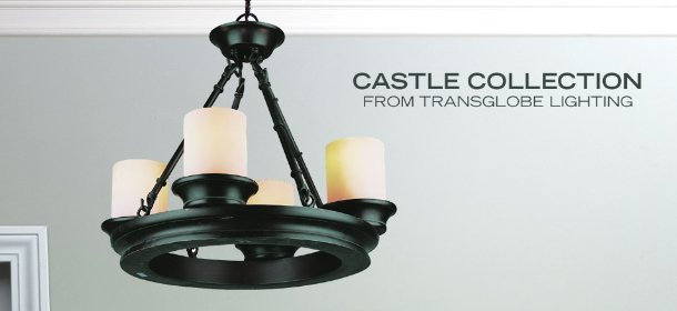 CASTLE COLLECTION FROM TRANSGLOBE LIGHTING, Event Ends January 29, 9:00 AM PT >