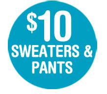 SWEATERS & PANTS