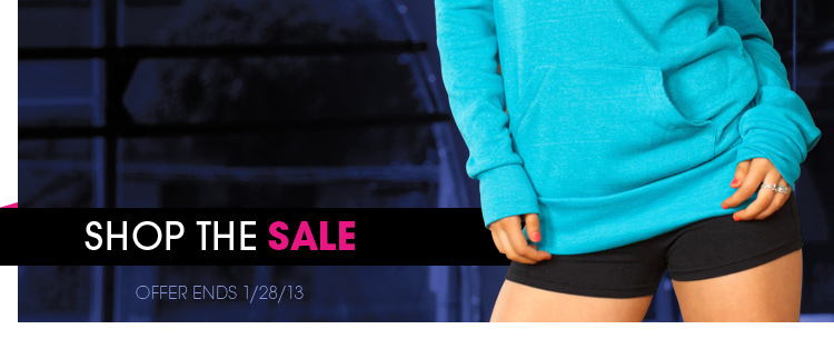 Shop the sale - ends 1/28/2013