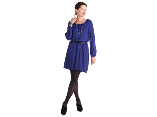 A flattering long-sleeved dress is hard to come by, but this one works for any occasion—work, brunch, you name it!