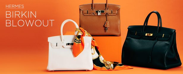Hermes Blowout: Birkins, Scarves, & More at the Lowest Prices EVER!