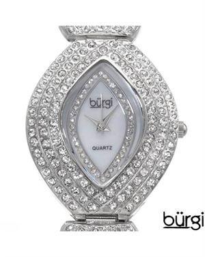 Brand New BURGI BUR052SS Ladies Watch $85