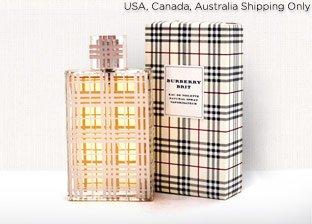 Women's Fragrances: Cartier, Bvlgari, Burberry