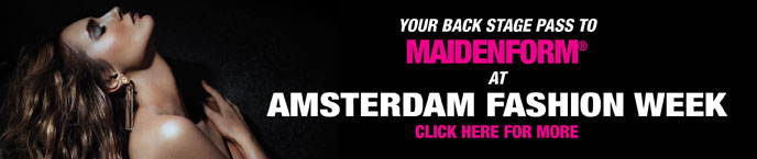 Your Back Stage Pass to Maidenform at Amsterdam Fashion Week