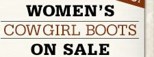 Cowgirl Boots on Sale