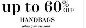 Up to 60% off Handbags
