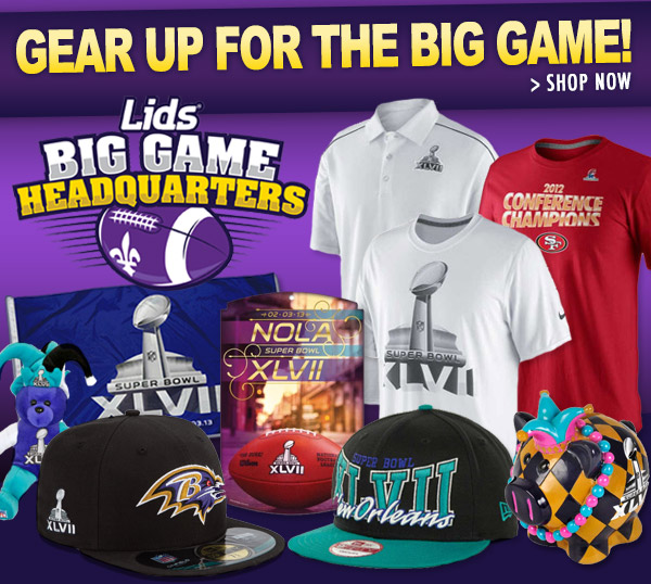 Gear Up For The Big Game - Shop Now