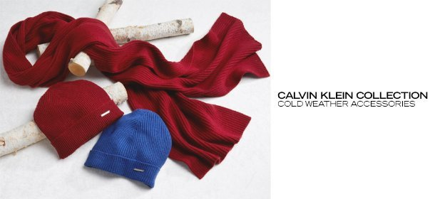 CALVIN KLEIN COLLECTION: COLD WEATHER ACCESSORIES, Event Ends January 29, 9:00 AM PT >