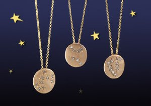 Sparkling Signs: Zodiac Necklaces