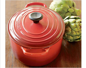 EXCLUSIVE & TOP-RATED -- Le Creuset Signature Oval Dutch Oven  -- OUR PRICE $110.00 – $370.00 (SUGG. $145.00 – $490.00, UP TO $120 OFF SUGG. PRICE)