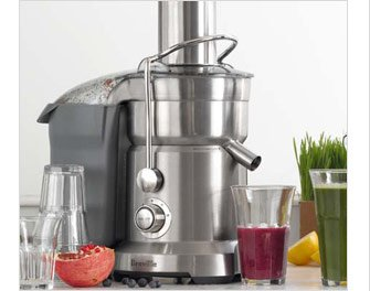 TOP-RATED -- Breville Juice Fountain Duo -- OUR PRICE $399.95 (SUGG. $600.00, $200 OFF SUGG. PRICE)