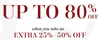 Up to 80% off Kidswear