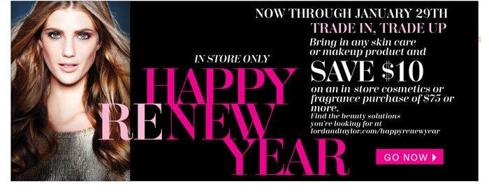 Happy Renew Year. Go now