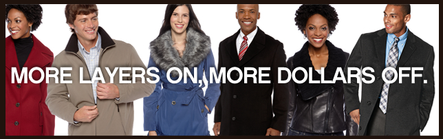 More layers on, more dollars off.
