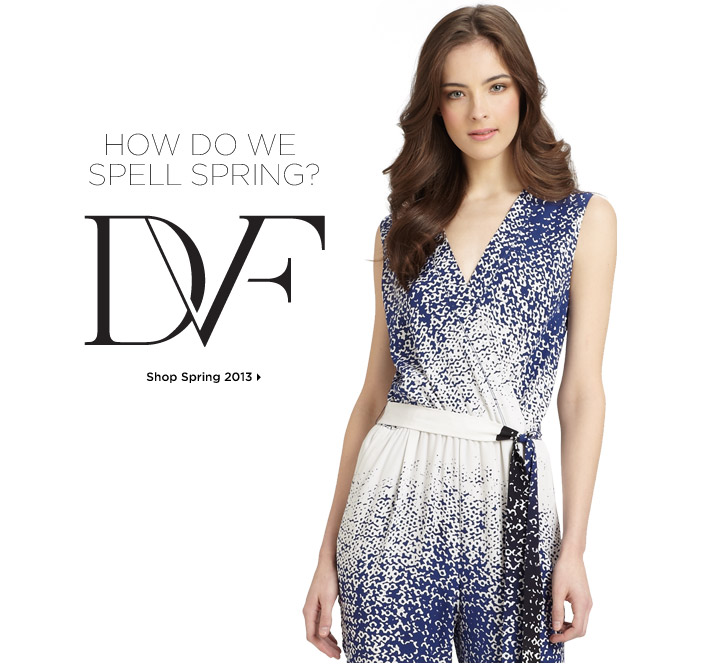 Shop DVF Spring 2013