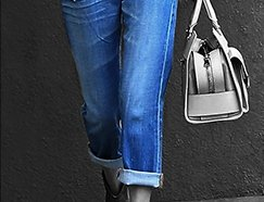 CLOSET NECESSITY: Cuffed Slouchy Jeans