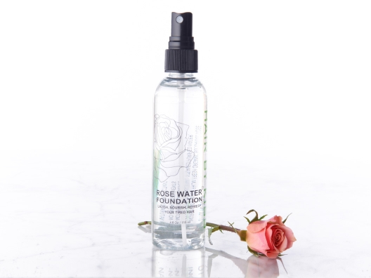Natural Rose Water Hair Refresher from Alicia Silverstone
