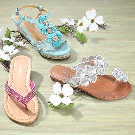 Walking on Sunshine: Girls' Shoes
