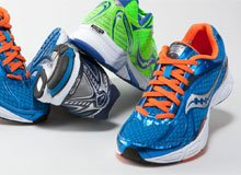 Go for a Run Men's Saucony, Reebok, & More
