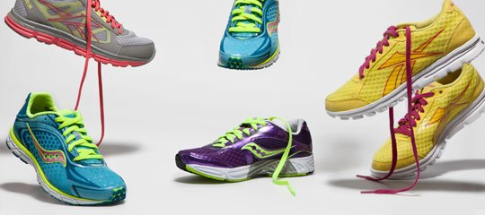 Go for a Run:Women's Saucony, Reebok, & More