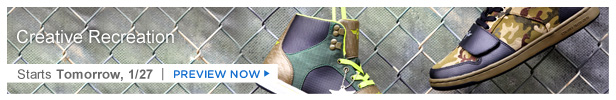 Creative Recreation Shoes is on HauteLook tomorrow 1/27