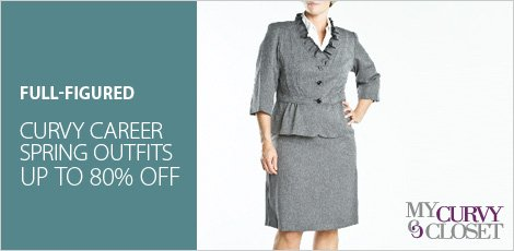 Curvy Career Spring Outfit