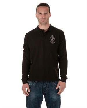 Torrente Joe Long Sleeve Polo Shirt- Made in Italy