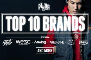 PLNDR's Top 10 Brands