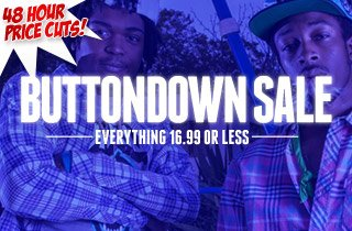 Buttondown Sale - 16.99 or Less