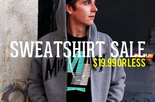 Sweatshirt Sale $19.99 or Less