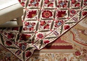 Needlepoint & Flatweave Rugs