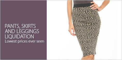 Pants, Skirts & Leggings Liquidation