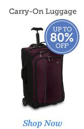 Shop Carry-On Luggage >