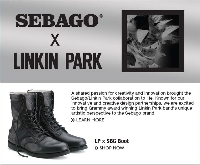 Sebago X Linkin Park Shop Now