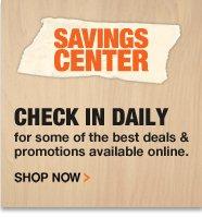 Savings Center