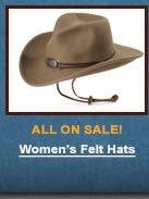 Women's Felt Hats