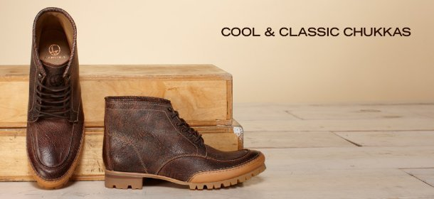 COOL & CLASSIC CHUKKAS, Event Ends January 31, 9:00 AM PT >