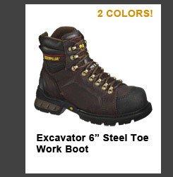 """Excavator 6"""" Steel Toe Work Boot"""
