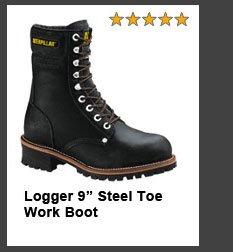 "Logger 9"" Steel Toe Work Boot"